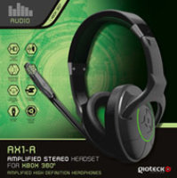Gioteck AX1 Stereo Chat Headset for Xbox 360