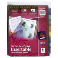 Avery Big Tab Two-Pocket Insertable Plastic Dividers