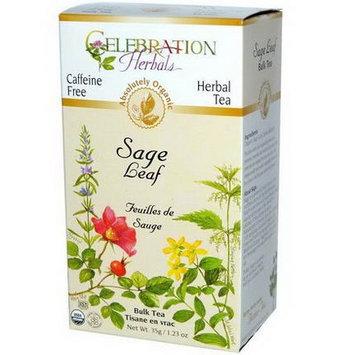 Celebration Herbals Organic Sage Leaf Caffeine Free 35 g