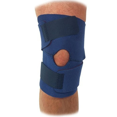 Trainers Choice Trainer's Choice Compression Knee Wrap, Blue, One Size