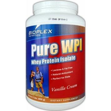 Bioplex Nutrition Pure WPI Whey Protein Isolate, Chocolate, 1 Pound