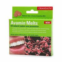 Avamin Melts All-natural canker sore prevention