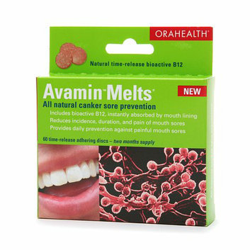 Avamin Melts All-natural canker sore prevention