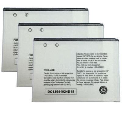 Battery for Pantech PBR-46E (3-Pack) Battery for Pantech PBR-46E