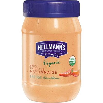 Unilever Hellmann's Organic Chipotle Mayonnaise, 15 oz