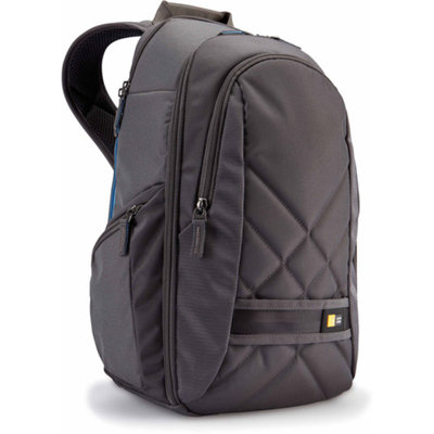 Case Logic CPL108 Small Digital SLR Camera & iPad/Tablet Backpack (Grey)