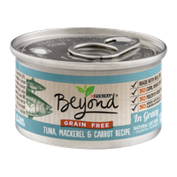 Purina Beyond Natural Cat Food Tuna, Mackerel & Carrot Recipe In Gravy