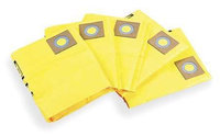 DAYTON 3UP66 Filter Bag,2-Ply,10 to 14 gal, PK5