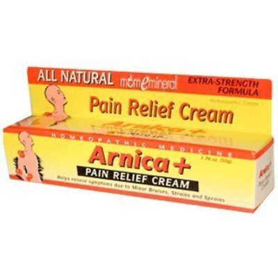 Homeolab USA - Arnica+ Pain Relief Cream All Natural Extra Strength Formula - 1.76 oz.