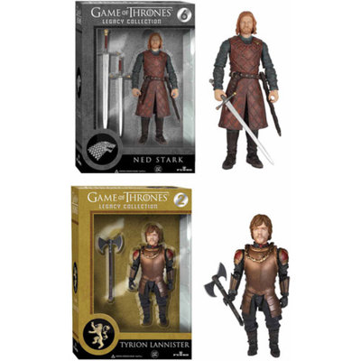 Funko Game of Thrones Legacy Collection, Ned Stark and Tyrion