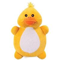 Grriggles Plush Crinkletons Dog Toy, Duck Shaped, 9-1/2-Inch