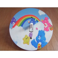 CARE BEARS Light switch Cover 5 Inch Round (12.5 cms) Switch plate Switchplate