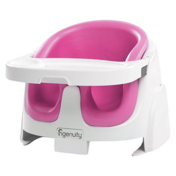 Ingenuity Baby Base 2-in-1 Booster Seat - Magenta