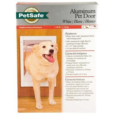 PetSafe Classic Pet Door, Medium, White