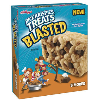 Kellogg's® Rice Krispies Treats Blasted S'mores