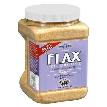 Flax USA Pre-Ground True Cold Milled Flax Seed - 40 OZ