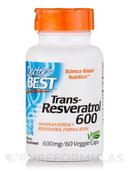 Doctor's Best Trans-Resveratrol 600 mg Doctors Best 60 VCaps