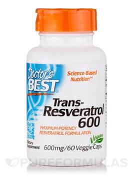 Doctor's Best Trans-Resveratrol 600 mg Doctors Best 60 VCaps