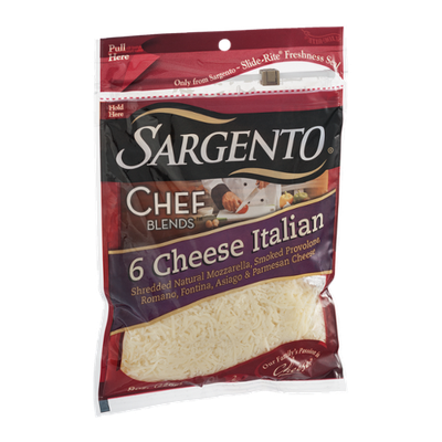 Sargento Chef Blends 6 Cheese Italian