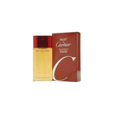 Cartier Must De  Edt Spray 3. 4 Oz By