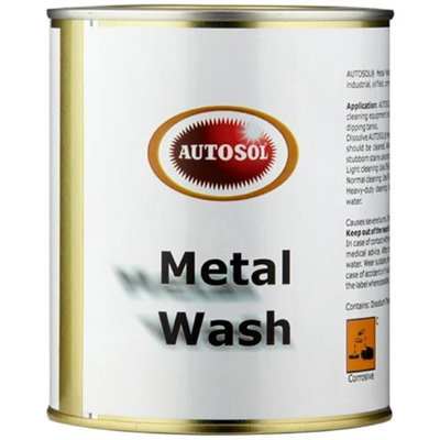 AutoSol 1500 Metal Wash Pack of 6