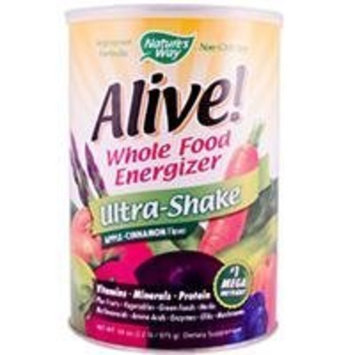 Nature's Way Alive! Soy Ultra-Shake Apple & Cinn, 2.2 lbs Powder