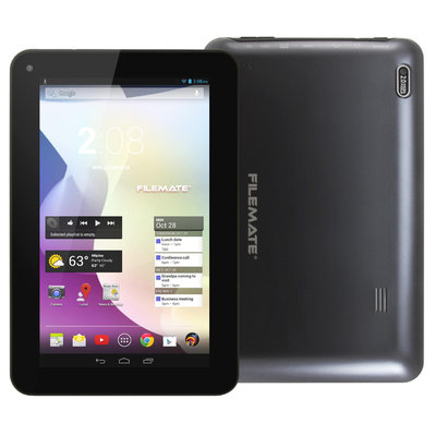 Filemate FileMate(R) ClearX2 Tablet With 7in. Touch-Screen Display Dual-Core Processor, 16GB Storage, Black