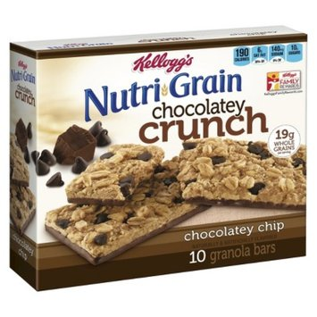 Kellogg's Nutri-Grain Chocolatey Crunch Chocolatey Chip Granola Bars