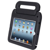 Kensington SafeGrip K67792AM Carrying Case for iPad, Charcoal, Black