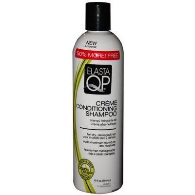 Elastaqp Elasta Qp Creme Conditioning Shampoo for Dry Damaged Hair, 12 Ounce