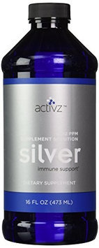 Silver Solution Liquid 12ppm - 16 oz bottle by Activz