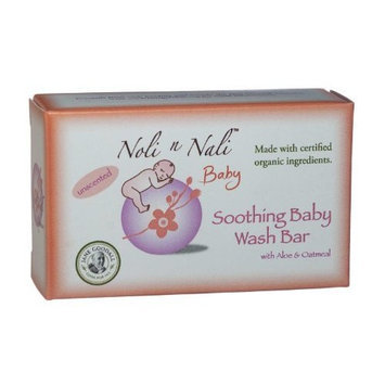 NOLI N NALI LLC Noli n Nali Soothing Baby Wash Bar, 3.5 Ounce