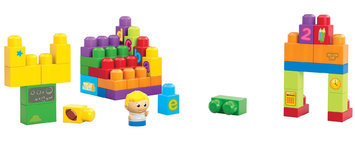 Mega Bloks First Builder's Learning Building Fun Play-set