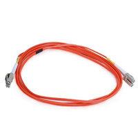Monoprice Fiber Optic Cable, LC/LC, OM2, Multi Mode, Duplex - 2 meter (50/125 Type) - Orange