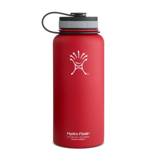 Hydro Flask Insulated Wide Mouth Stainless Steel Water Bottle, 32-Ounce []