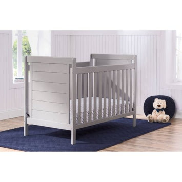 Delta Children Sunnyvale 4-in-1 Convertible Crib, Grey