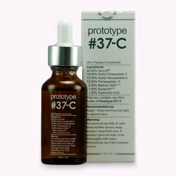 SNC Labs Prototype 37-C - Anti Aging Serum - Best Anti Aging Serum - Anti Wrinkle Products That Contains 99% Peptide Concentration