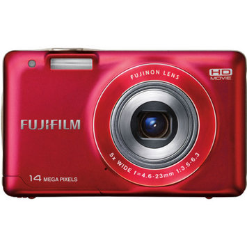 Fujifilm FinePix JX500 Red 14MP Digital Camera w/ 5x Optical Zoom Lens, 2.7