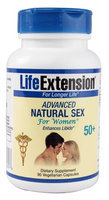 Advanced Natural Sex for Women 50+, 90 Vegetarian Capsules, Life Extension