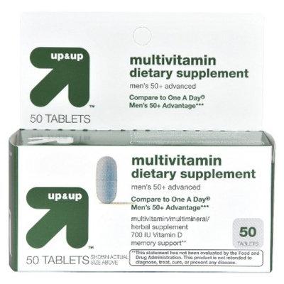 Up & Up Men's 50+ Multivitamin Tablets 50-pk.