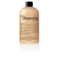 Philosophy I'm Dreaming of Shampoo/Shower Gel/Bubble Bath, White Peach, 16 Ounces