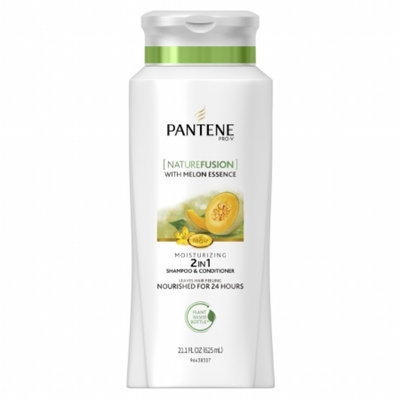 Pantene Pro-V Nature Fusion Moisturizing 2-in-1 Shampoo & Conditioner with Melon Essence