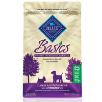 Blue Buffalo Basics Dry Dog Food, Turkey and Potato Recipe, 4-Pound Bag