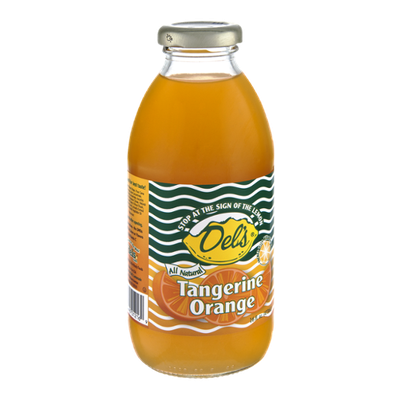 Del's All Natural Tangerine Orange Drink