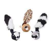 Ethical Crazy Critters Rope Tug Dog Toy Assorted Animals, 11-Inch