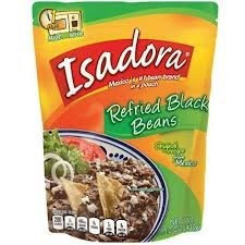 Verde Valle Isadora Refried Black Beans 15.2 Oz. (Pack Of 12)