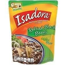 Verde Valle Isadora Refried Black Beans 15.2 Oz. (Pack Of 12)
