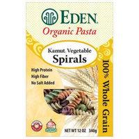 Eden Organic Eden Kamut Vegetable Spirals, Organic, 100% Whole Grain, 12 Ounce (Pack of 3)