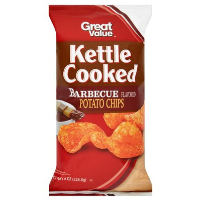 Great Value Kettle Cooked Barbecue Potato Chips