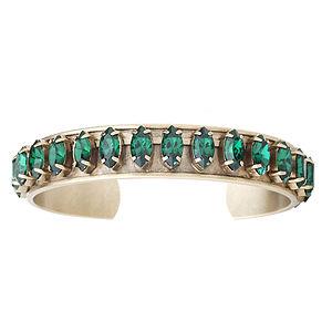 Elizabeth Cole Jewelry Navette Cuff Bracelet